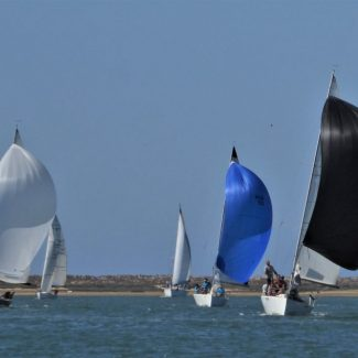 Racing in Ria Formosa